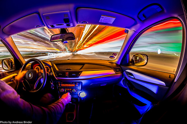 Auto Lightpainting   car lightpainting