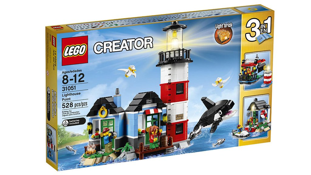 Lego Creator Lighthouse Point 31051 Box More On Wwwhell Flickr