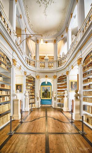 Herzogin Anna Amalia Bibliothek in Weimar