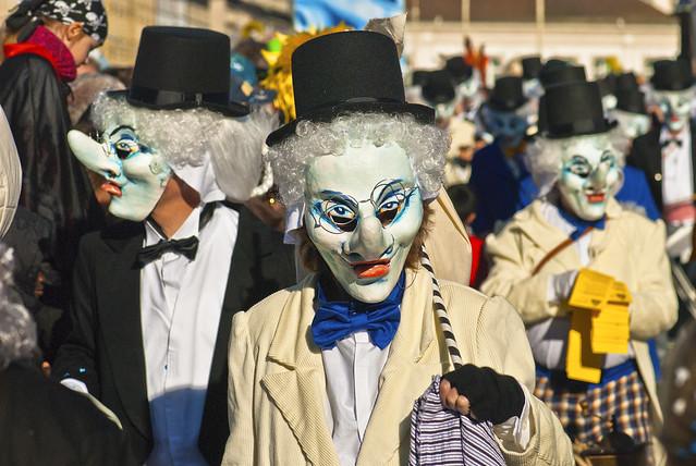 Basel's Carnival Basler Fasnacht 2014,. No.0030.