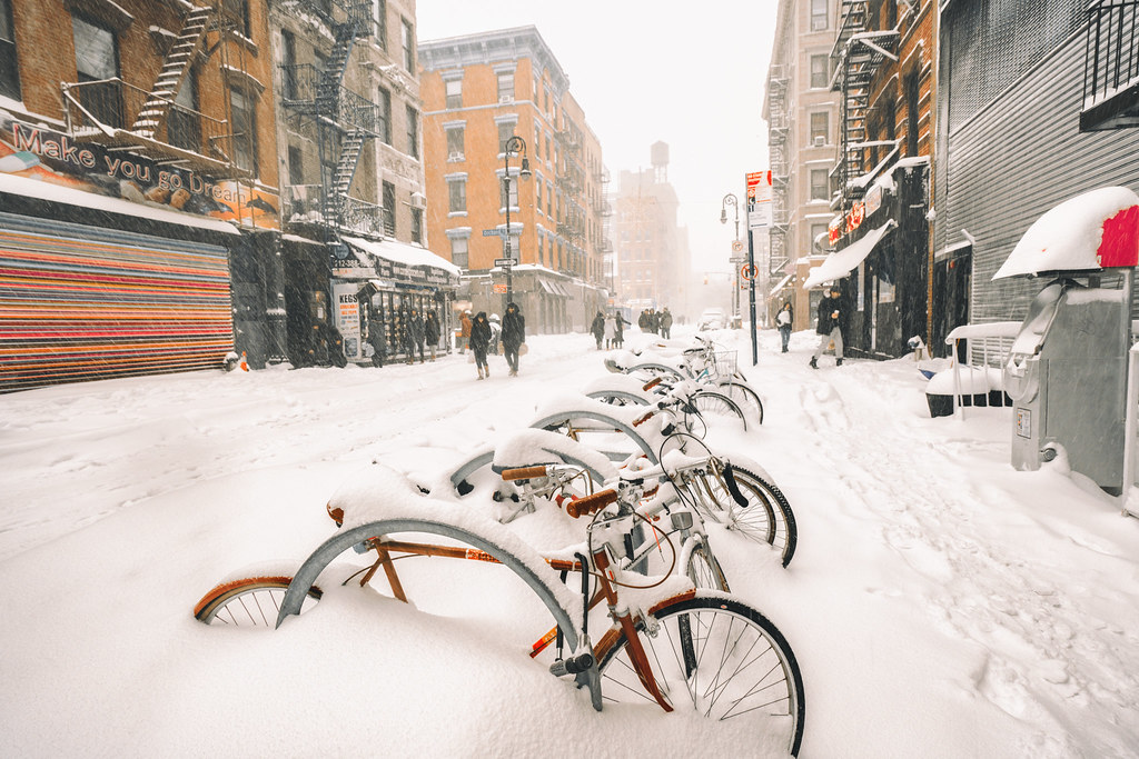 New York City - Blizzard 2016 - Jonas - Rivington Street
