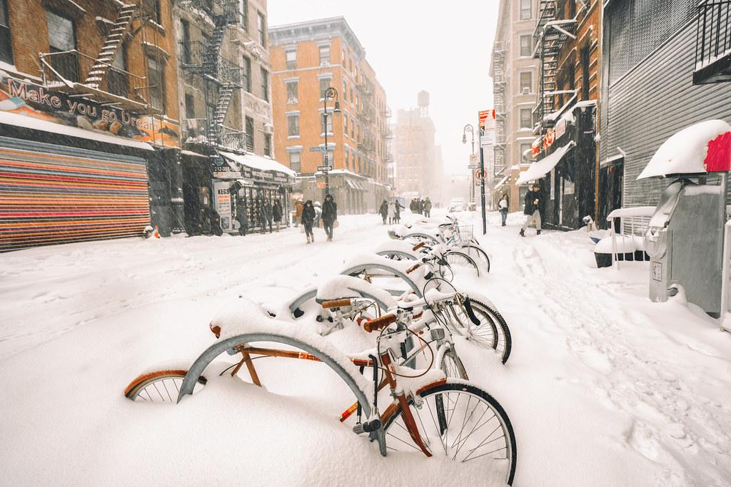 New York City - Blizzard 2016 - Jonas - Rivington Street