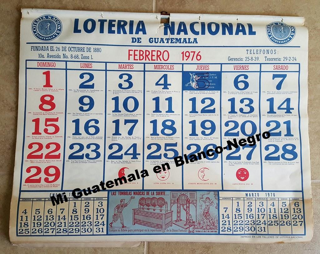 Calendario De 1976 Completo.1976 Calendario Completo De 1976 Hoja De Febrero