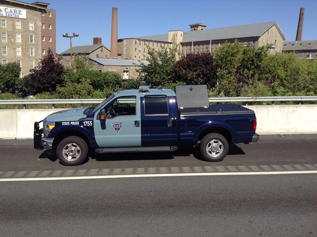 Mass  State Police Commercial Vehicle Enforcement Unit at …   Flickr