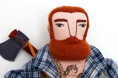 Cashmere carrot lumberjack | by Mimi K
