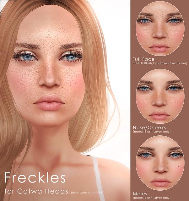 "DeeTaleZ- Catwa Applier ""Freckles"""