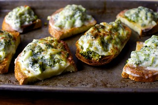 broccoli melts | by smitten kitchen