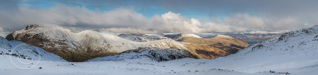 Lake District Feb 2016 - North Western Panorama