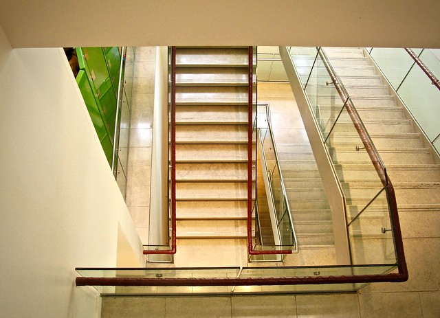 Stairs, Hospital Club, London