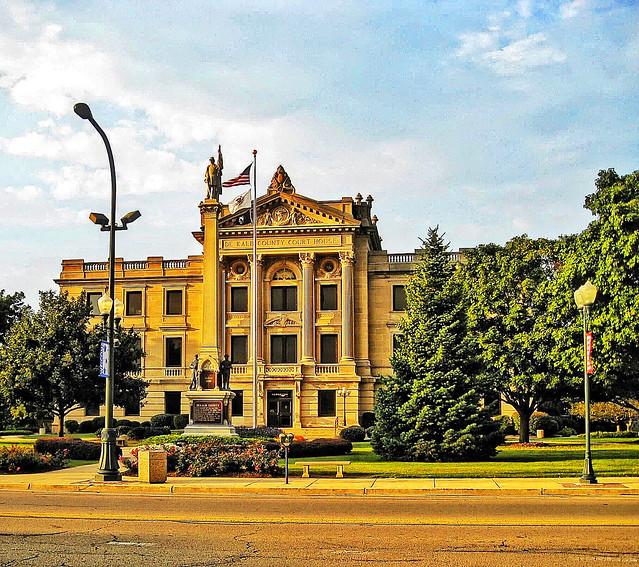 DeKalb County Court House - Sycamore Illinois