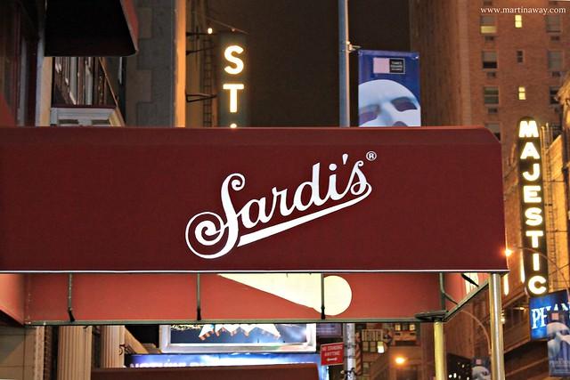 Sardi's, serie tv New York