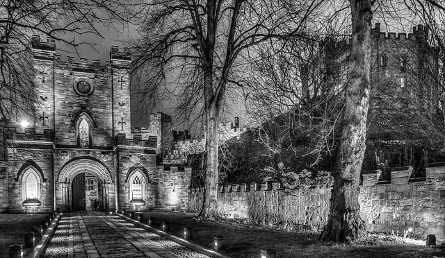 Castle grounds, Durham