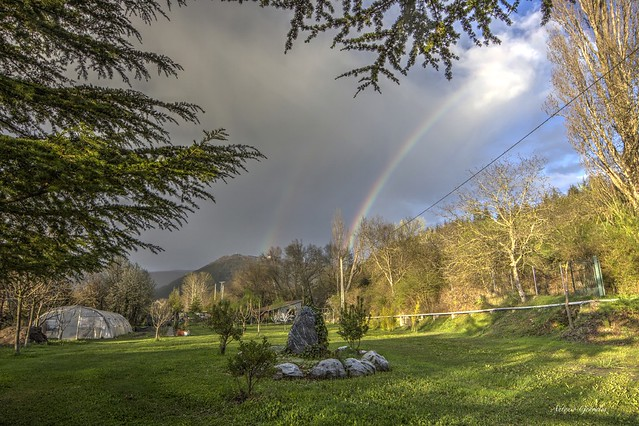 Huerta, Arco Iris