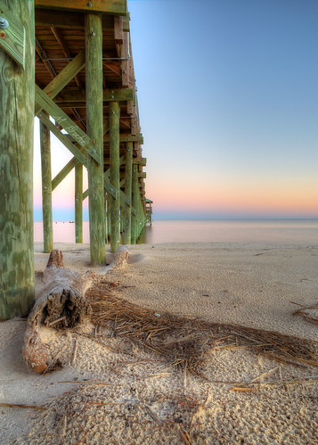 sky beach water st mississippi mexico bay louis coast pier sand gulf peir hdri 6d photomatix
