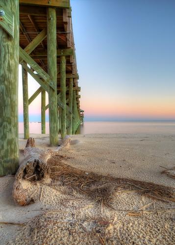 sky beach water st mississippi mexico bay louis coast pier sand gulf peir hdri 6d photomatix