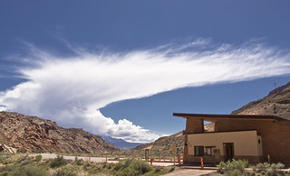 Arches Entrance Station, Grand Co, UT   by Ranger Robb