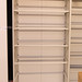 Tall top open tambour unit