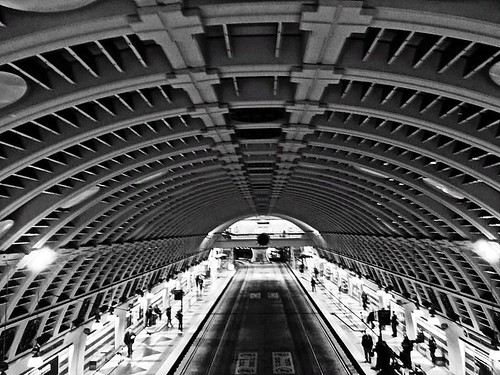 Pioneer Square Transit Tunnel Station, Seattle WA