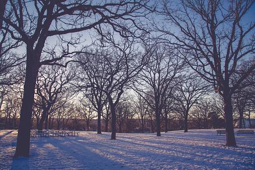 winter sunset snow minnesota us unitedstates riversidepark saintcloud stcloud scsu stcloudstateuniversity