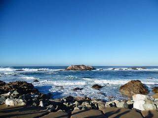 California ocean view   by giskaren