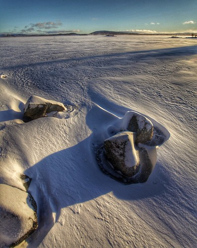 winter lake snow ice norway landscape norge al nice shot stones best