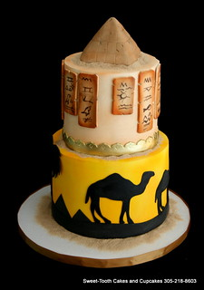 Terrific Egypt Themed Cake Sweet Tooth Cakes And Cupcakes Flickr Funny Birthday Cards Online Necthendildamsfinfo