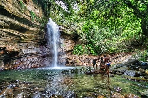 Nanny Falls - Moore Town District - Portland Jamaica | by WiggzMedia