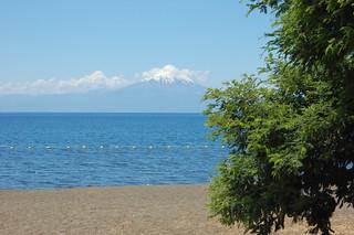 Views of Lago Llanquihue from Frutillar, Chile   by blueskylimit