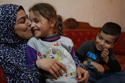 Zainab spends some family time with her her daughter | by World Bank Photo Collection