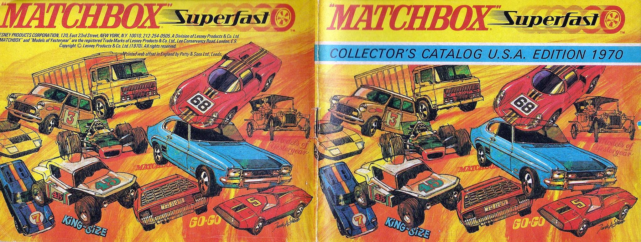 Matchbox 1970 Collector's Catalogue | Flickr