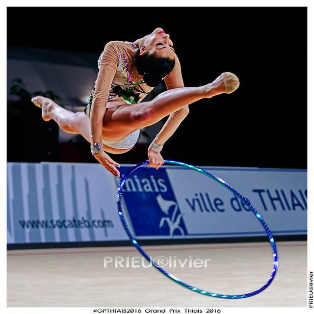 Varvara FILIOU - GRE - Qualifications 30èmes  Grand Prix Thiais 2016