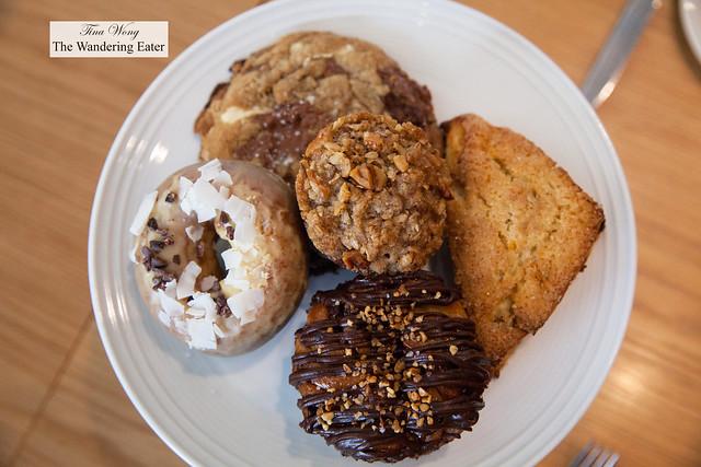 Brunch pastry platter