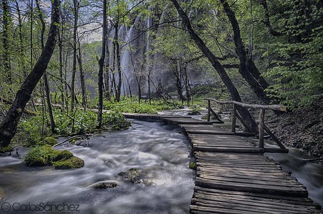 Plitvice Lakes River
