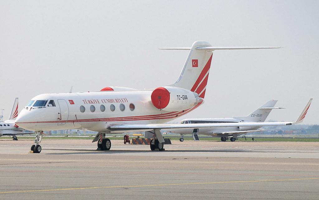 Turkish Government Gulfstream Aerospace G450 TC-GVA