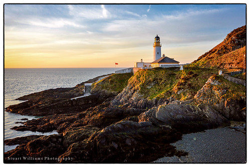 lighthouse sunrise landscape coast douglas isleofman