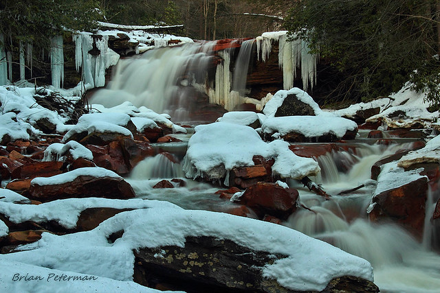 Kennedy Falls in the winter