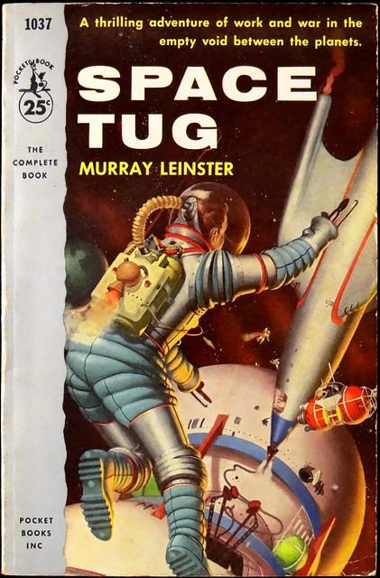 Pocket Books 1037 (Nov., 1954). First Printing. Cover Art by Robert Schulz