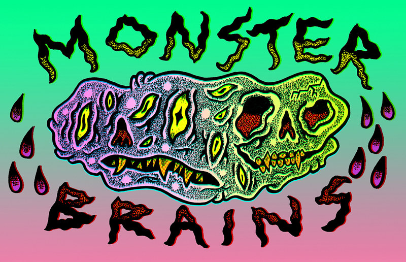 MONSTER BRAINS LOGO - Michael Skattum