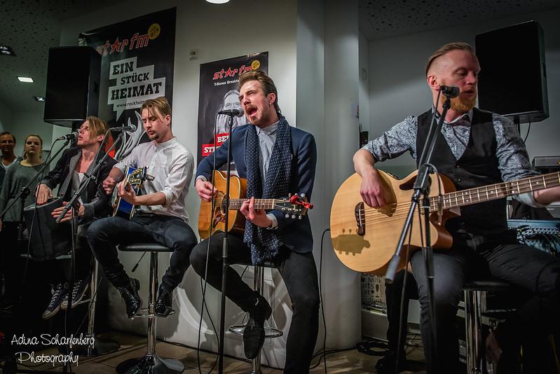 Royal Republic 2016 (Star FM kitchen, Berlin)
