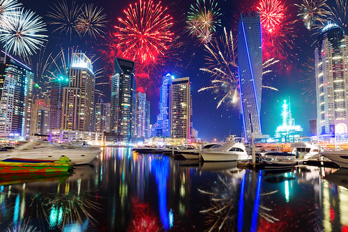New Year fireworks display in Dubai, UAE | by tnilsson.london