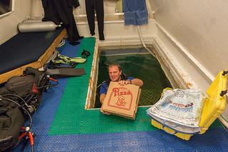 Jules Undersea Lodge Underwater Pizza Delivery | by Photomatt28
