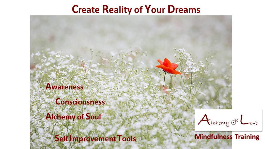 Create Reality of Your Dreams from AoL Mindfulness by Nataša Pantović