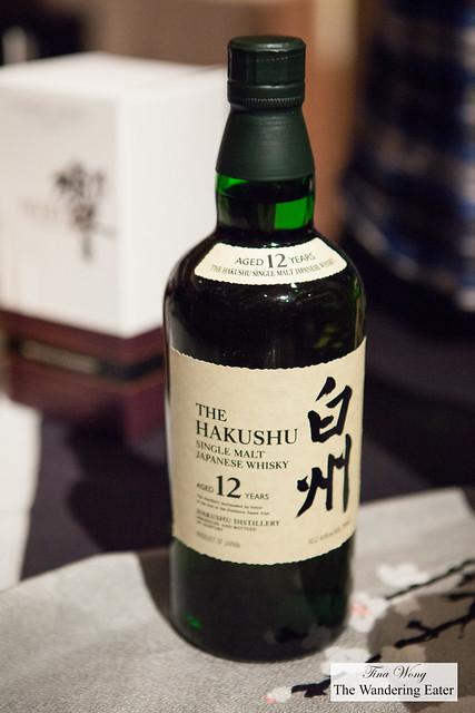 The Hakushu 12-Year Single Malt Japanese Whisky