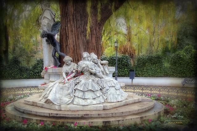 (051/16) Monumento a Becquer (Sevilla)