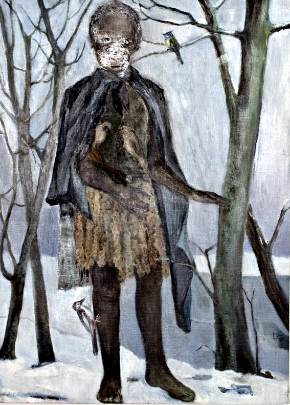 Painting Inge Pries