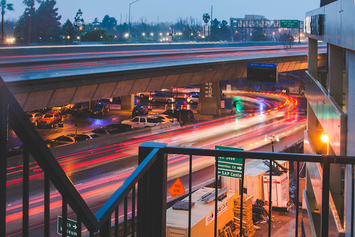 Hectic Rainy Day Traffic on Highway 280 and Santa Clara Street in Downtown San Jose. | by Frostysean
