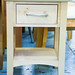 Hardwood one drawer locker