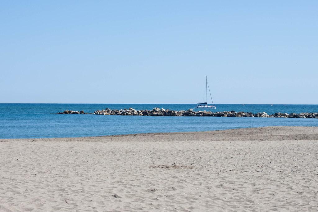 Beach, Sea and Boat