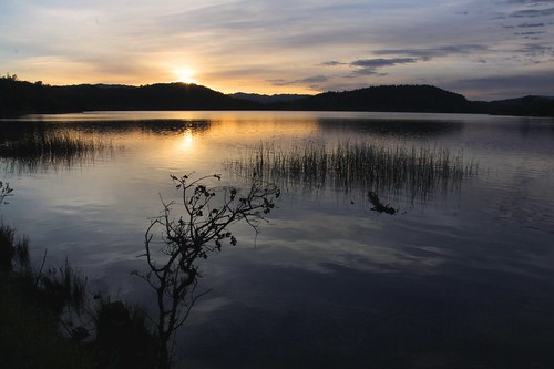 sunset northerncalifornia napacounty lakehennessy conndam