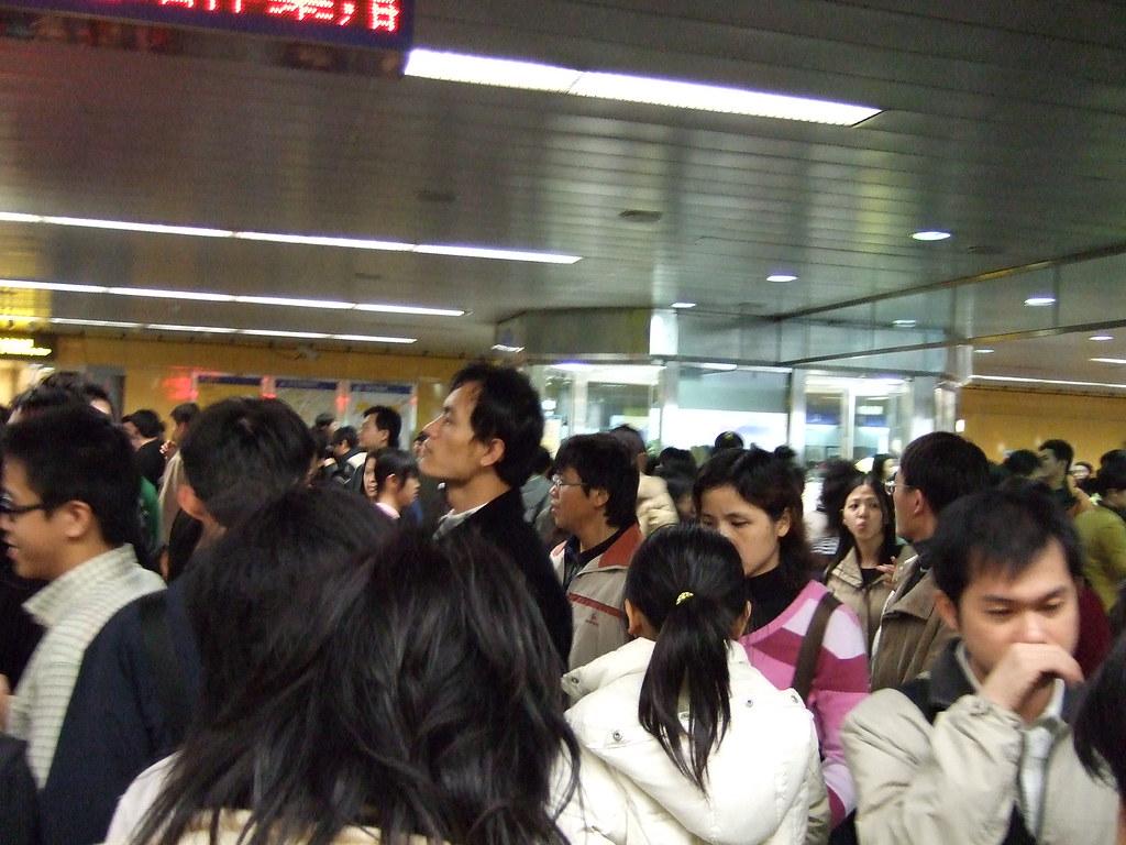 滿滿的捷運站 (II) / Full Metro Taipei Station (II)